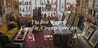 the best ways to care for clean and art canvas a blog by saatchi art