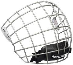 Bauer 2100 Helmet Size Chart Bauer 2100 Facial Protection Grille For Adult Hockey Helmet