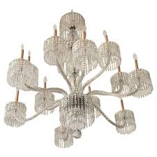 exceptional 19th century baccarat palatial twist rope arm crystal chandelier
