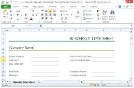 Bi Weekly Timesheet Template Free Free Bi Weekly For Small And Start Up Businesses Overtime Template