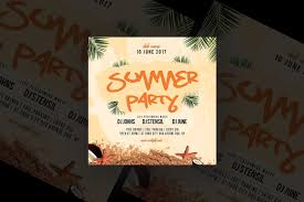 Summer Party Flyer Vsual