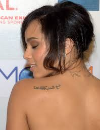 Fancy Rihanna Tattoos Meaning Rihanna Neck Tattoo Zoe Tattoo Designs