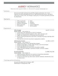 Office Admin Resume Interesting Resume Office Administrator Sample Resumes For Office Manager It