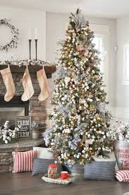 farmhouse christmas tree michaels dream tree challenge 2017