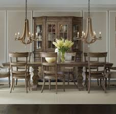 Dining Room:Traditional Dining Room With Antique Chandelier And Restoration  Hardware Dining Table Idea Make