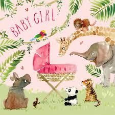 New Baby Girl Cards New Baby Cards Congratulations Cards