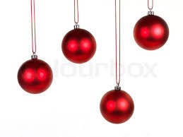 hanging christmas ornaments background.  Christmas Hanging Christmas Ornaments Isolated Against A White Background  Stock  Photo Colourbox In Ornaments Background