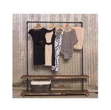 rolling coat rack with shelf wardrobe racks awesome clothes shelves metal  and wood garment . rolling coat rack ...