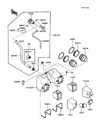 kawasaki en450 a1 parts list and diagram 1985 click to close
