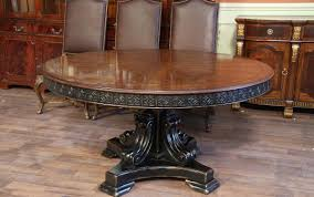 round walnut dining table black and gold alhambra finish