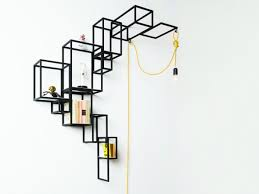 Wall Mount Bookcase Putting A Creative Spin On The Classical Bookcase Concept