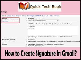 1 833 295 1999 Process To Create Gmail Signature Unable
