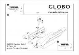 Уличный настенный <b>светильник Globo Chana 34125</b> купить в ...