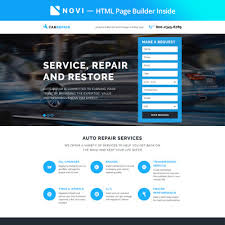 Make A Cover Page Online Auto Parts Templates Templatemonster
