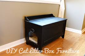 covered cat litter box furniture. DIY Cat Litter Box Furniture Covered R