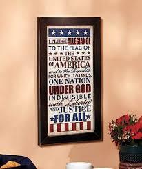 capricious patriotic wall decor wood art reclaimed pallet