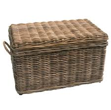 large wicker storage trunk. Modren Trunk Furniture Interesting Wicker Storage Trunk With Rope Handle   Trunks And Chests Throughout Large G