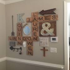 Wooden Letters Design Interior Design Curious Wall Mural Ideas As Though Lovely Wooden