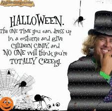 best haloween celebrity creepy quote