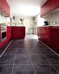 Red Floor Tiles Kitchen Vinyl Kitchen Floor Tiles Kitchen Vinyl Flooring In Modern Style