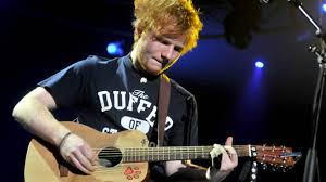 Image result for ed sheeran guitar