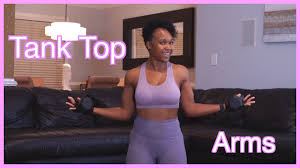 Get Tank Top Ready || AT HOME BICEP WORKOUT || with Priscilla Andrews -  YouTube