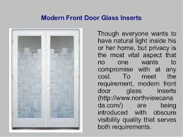 entry door glass inserts. 4. Modern Front Door Glass Inserts Though Entry C