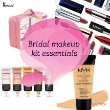 bridal makeup kit essentials 2017 everything you need in your vanity