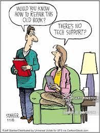 old books cartoon 1 of 7