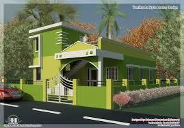 tamilnadu style single floor house