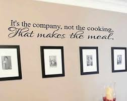 Small Picture Kitchen wall decal Etsy