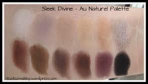 swatch sleek makeup divine au naturel palette sleek collection i
