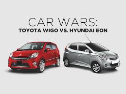 Car Wars: Toyota Wigo vs. Hyundai Eon   Toyota Motors Philippines ...