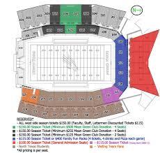 Unt Stadium Seating Diagram Mean Green Stadium Pics