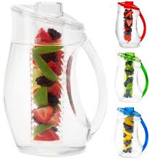 creative home design exceptional glass water pitcher with lid as though best rated in carafes