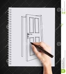 drawing door