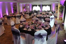 Red And Black Table Decor Purple And Black Wedding Dresses Black Purple And Black Wedding Colors