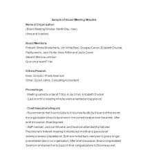 Corporate Meeting Minutes Form Taking Meeting Minutes Template Company Minutes Template