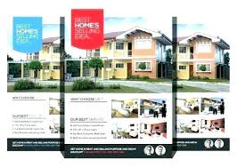 House For Rent Flyer Template Word Home For Sale Flyer Template With Realistic Photos Microsoft