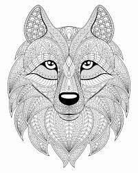 New free coloring pages stay creative at home with our latest. Disney Animal Coloring Pages Unique Wolf Head With Plex Patterns From The Gallery Wolvesl Meriwer Coloring