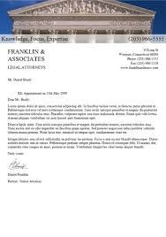 Free Sample Lawyer Letterhead Template