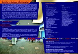 bba business administration must london brochure