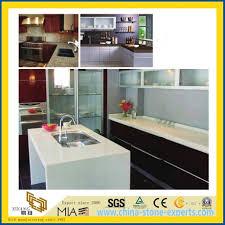 pure white black beige polished artificial quartz stone countertop for kitchen bathroom