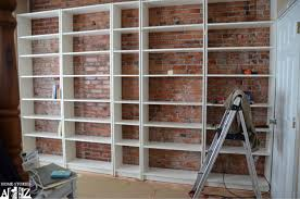 billy built in bookcase