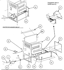 Images of parts list for carrier furnace