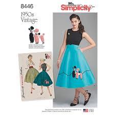 Skirt Patterns Cool Misses Vintage Skirt And Cummerbund Simplicity Sewing Pattern 48