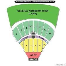 Bonner Springs Amphitheater Seating Chart Providence Medical Amphitheater Seating Chart 2019
