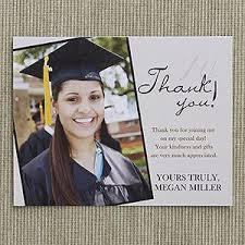 Refined Graduate Custom Thank You Cards Graduation Graduation