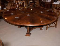 modern round brown high gloss finished teak wood extension dining awesome restaurant dining room furniture