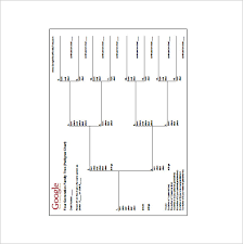 4th Generation Pedigree Chart 4 Generation Family Tree Template 12 Free Sample Example